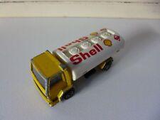 Shell Ford Tanker - 1/00 - # 241 245 - Majorette - Yellow White - France