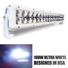 """180W 31"""" White LED Light Bar Spot Beam Flood Light Adjustable (USA SELLER)"""