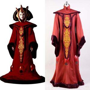 Star Wars Phantom Menace Queen Padme Amidala Halloween ...