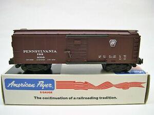 4-9705-American-Flyer-Pennsylvania-Boxcar-in-Original-Box