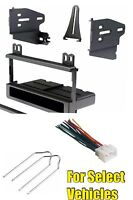 Single Din Radio Kit Combo For Some Ford Ranger Mustang F150 Expedition Explorer