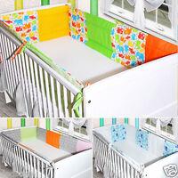 Bettumrandung Nestchen Kopfschutz 420x30, 360, 190 Bettnestchen Baby NEU