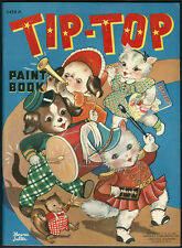 """UNCOLORED """"Tip-Top"""" #3458A Merrill 1941 Cover by Florence Salter (5276)"""