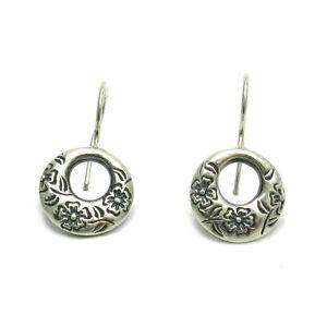 orecchini argento sterling FIORI MASSICCIO 925 e000518