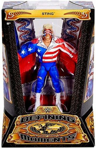 WWE Wrestling Defining Moments Sting Action Figure [Red, White & Blue]