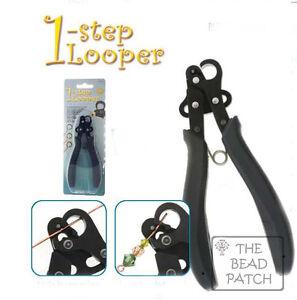 BeadSmith 1-Step Looper Tool Create /& Trim Eye Pins 1.5 mm