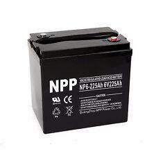 NPP 6V 225Ah AGM Deep Cycle MAINTENANCE FREE Battery replaces VMAX MB6-225