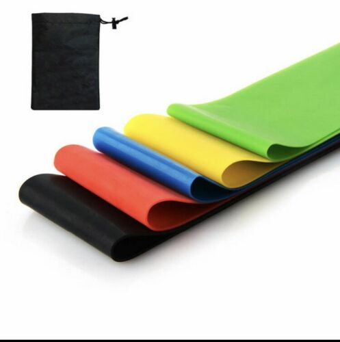 Resistance loop band yoga exercise gym home