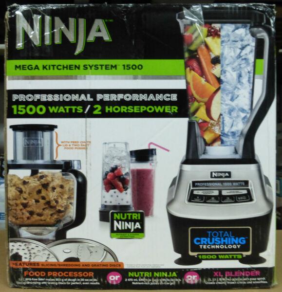 ninja mega kitchen system 1500 food processor blender bl773cco for rh ebay com