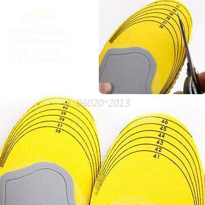Memory Foam Mesh Orthotic Arch Support Shoe Pad Sport Running Insoles Cushion
