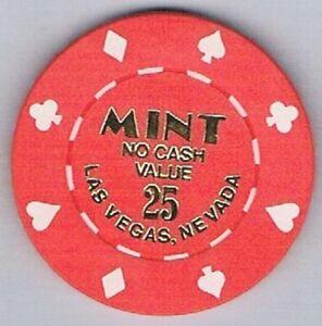 Mint Hotel $100.00 NCV Casino Chip Las Vegas Nevada
