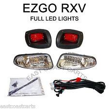 EZGO RXV Golf Cart LED LIGHT KIT LED HeadLight & LED Taillight