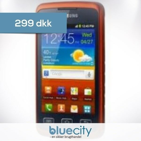 Samsung Samsung Galaxy Xcover S5690 Sort/Orange, Samsung