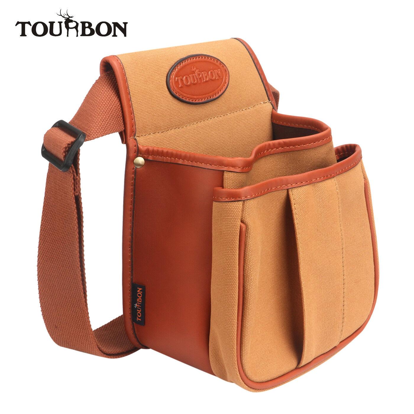 Tourbon Cartridge Speed Bag Shotgun Ammo Holder Carry Gun Bullet Pouch Belt Loop