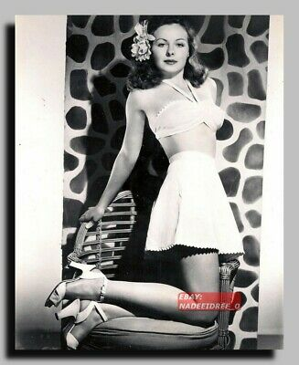 HV-2237 AMERICAN ACTRESS JEANNE CRAIN SEXY PIN UP 8X10
