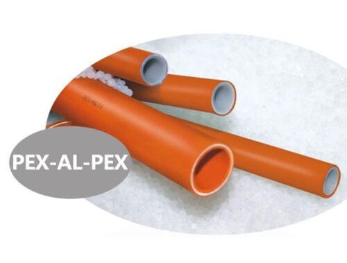 WRAS approved Underfloor heating pipe PEX-AL-PEX UFH pipe 16mm x 2mm 10m rolls