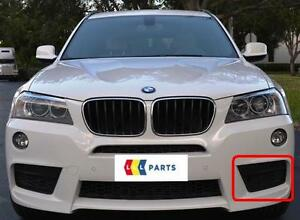 BMW-X3-10-14-NEW-GENUINE-FRONT-M-SPORT-BUMPER-N-S-LEFT-LOWER-GRILL-8050445