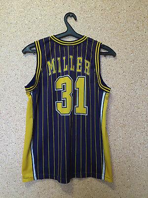 NBA Indiana Pacers BASKETBALL SHIRT JERSEY CHAMPION  31 Reggie Miller 5e943b5a9