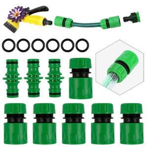 15PC-Universal-Garden-Watering-Water-Hose-Pipe-Tap-Plastic-Connector-Adaptor-UK