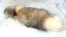 Real Crystal Fox Tail Fur Key Chain New
