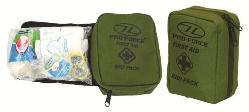NEW MILITARY FIRST AID - MIDI PACK Camping Bushcraft h
