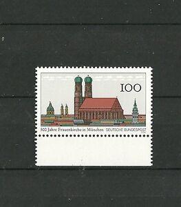Deutsche Bundespost 1994: 500 Jahre Frauenkriche München - Augsburg, Deutschland - Deutsche Bundespost 1994: 500 Jahre Frauenkriche München - Augsburg, Deutschland