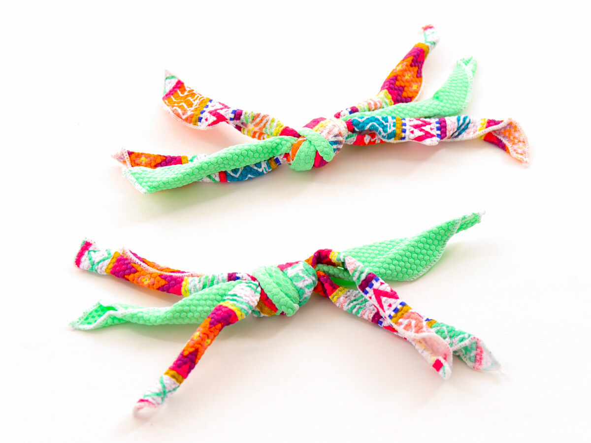 Brunotti Cord Ribbon Bix Sorma Green Pattern Ruffle