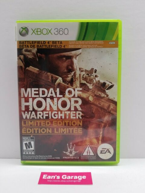 Medal of Honor Warfighter Xbox 360 video game 2 disc set with warranty