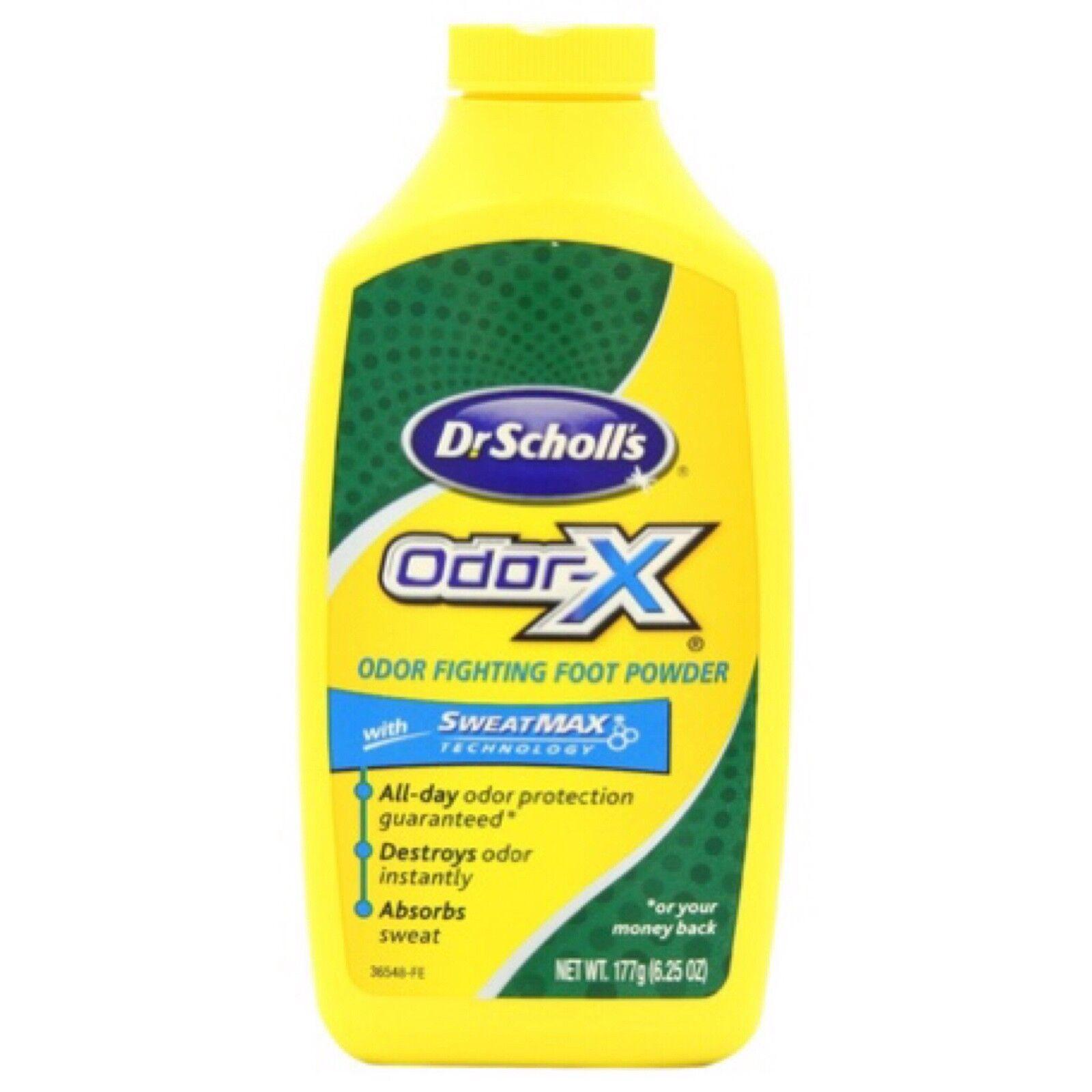 Odor X All Day Deodorant Powder-6.25 Oz