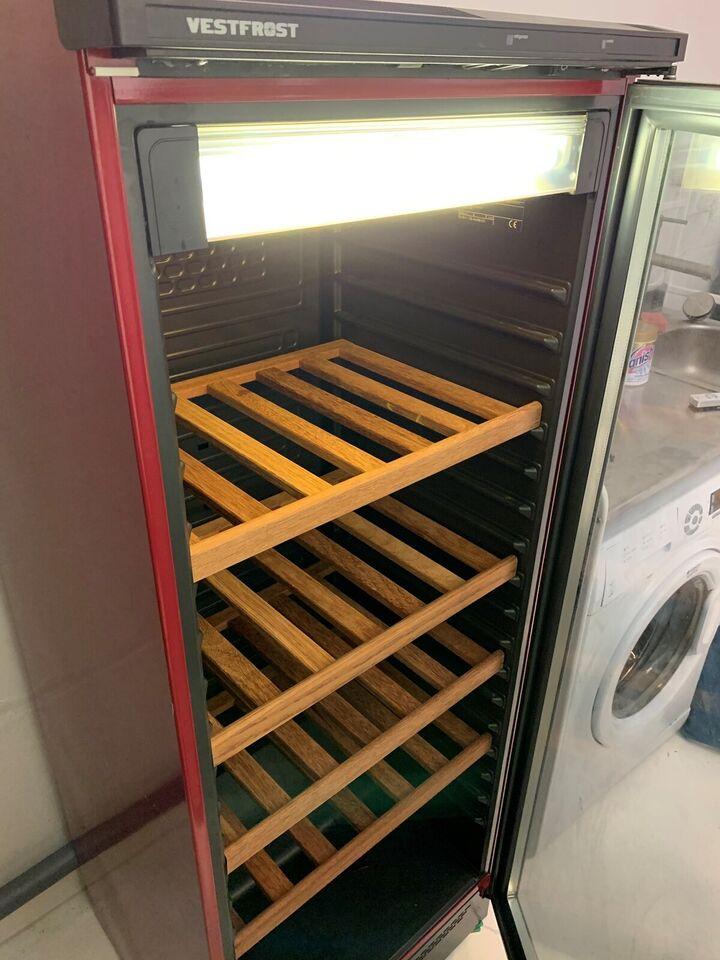 Vinkøleskab, Vestfrost VKG511, 288 liter