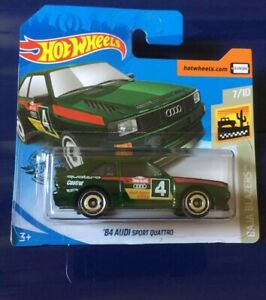 Hot-Wheels-039-84-Audi-Quattro-Baja-Blazers-7-10-New-2019-M12-BOXED-SHIPPING