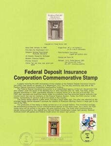 USPS-Souvenir-Page-8403-w-FDIC-guarantee-Deposits-2071-CTC