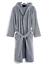 miniature 4 - Peignoir de Bain Éponge Homme Femme 100% Coton Avec Poches Capuche M L XL XXL