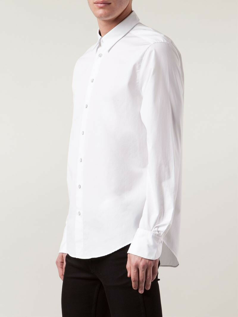 Rag & Bone Andrew slim fit dress shirt Japanese cotton Weiß 15.5 Portugal NWT