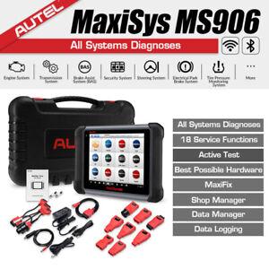 Autel MS906 OBD2 WiFi Diagnostic Scanner Tablet Touchscreen Active Test ECU Info