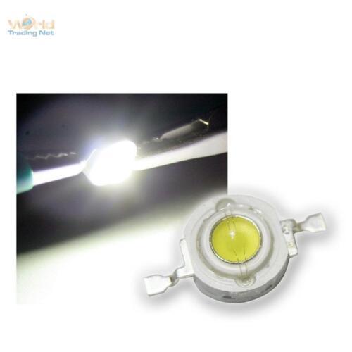 3 W weiße High Power SMD LEDs 3 Watt 700mA white 10x Highpower LED 3W kaltweiß