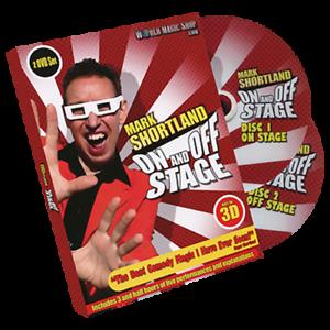 Sur la scène de Mark Shortland World Magic Shop - Dvd
