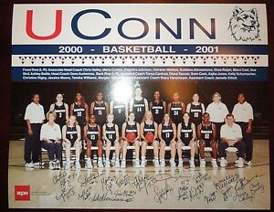 ORIGINAL-UCONN-HUSKIES-WOMENS-BASKETBALL-DIANA-TAURASI-SUE-BIRD-PHOTO-2000-2001