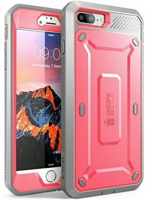 SUPCASE Unicorn Beetle Pro Series Design for iPhone 8 Plus Case With Built-in S