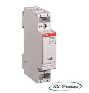 ABB-ESB20-11-230V-50Hz-Installationsschuetz-1S-1O-GHE3211302R0006