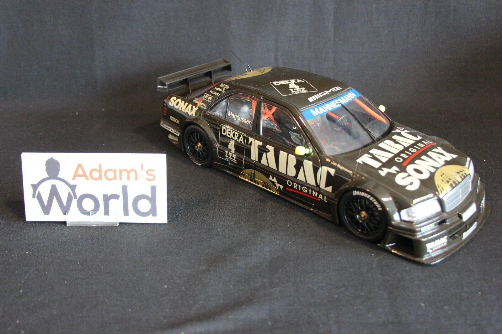 venta directa de fábrica UT Models Models Models Mercedes-Benz C-Class DTM 1995 1 18  4 Jan Magnussen (DEN) (JS)  el mas reciente