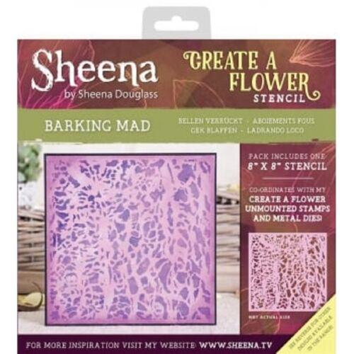 Sheena Douglass Create A Blumen Schablonen Gummistempel /& Stempel Crafters