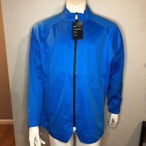 Nike-Golf-Jacket-Aeroshield-Blue-AV4222-406-Men-s-Size-Large