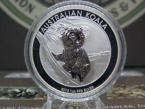 """2015 $1 Australia 1oz .999 Fine Silver """"KOALA"""" Coin #CF ECC&C, Inc."""