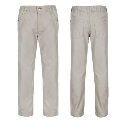 Boy/'s Baby Toddler Chinos Trousers Ex M/&S Kids Casual Beige Cotton Pants