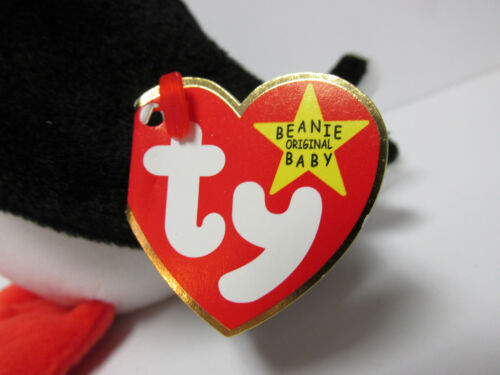 """Brand New w//Mint Tags /""""Puffer/"""" the puffin Ty Beanie Baby"""