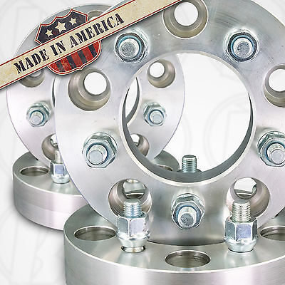 """4 USA MADE 5 Lug 4.75/"""" To 5 x 4.5/"""" Wheel Adapters 2/"""" Spacers 12mm 1.5 Studs"""