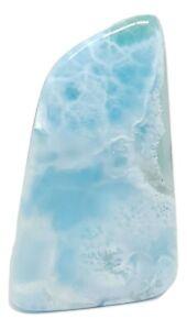 Larimar-Dolphin-Polished-Slab-Gemstone-Dominican-Republic-Genuine-64g-AAA