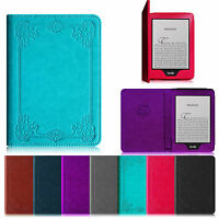 For 6 Amazon All Kindle Paperwhite Case Book Style Cover Auto Wake/sleep