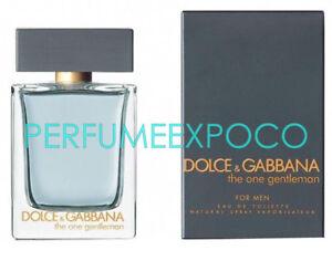 THE ONE GENTLEMAN by Dolce Gabbana MEN Cologne 1.6oz EDT Spr ... 21c845c536